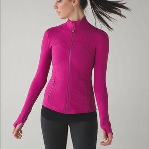 Lululemon size 6 Define Jacket Raspberry Pink